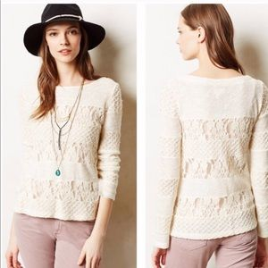 Anthropologie Acolyte Lace Panel Top